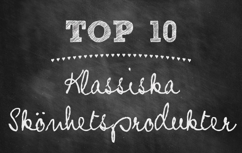 topp-10-klassiska-skonhetsprodukter