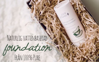 Naturlig foundation från 100% Pure