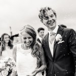 Riskastning vid bröllop nära havet runt Göteborg